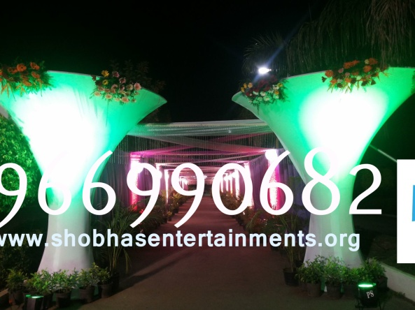 Reception decorations,engagement decorators, sangeet ceremony organizers , wedding flower decorations and event organizers in Hyderabad (56)