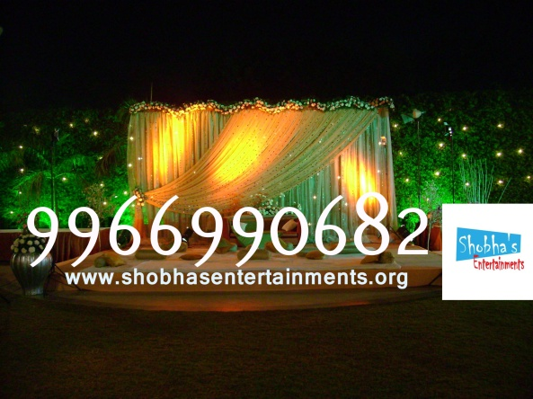 Reception decorations,engagement decorators, sangeet ceremony organizers , wedding flower decorations and event organizers in Hyderabad (59)