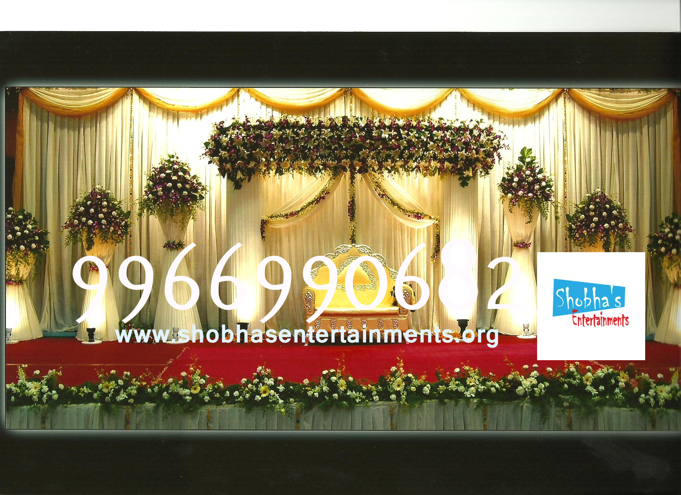 Reception sets in hyderabad shobhas entertainments reception decorationsengagement decorators sangeet ceremony organizers wedding flower decorations and event organizers junglespirit Choice Image