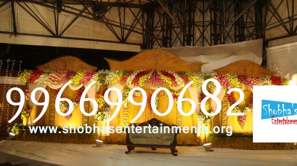 Reception decorations,engagement decorators, sangeet ceremony organizers , wedding flower decorations and event organizers in Hyderabad (62)