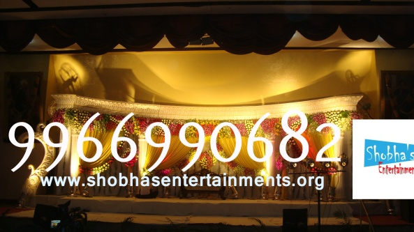 Reception decorations,engagement decorators, sangeet ceremony organizers , wedding flower decorations and event organizers in Hyderabad (63)