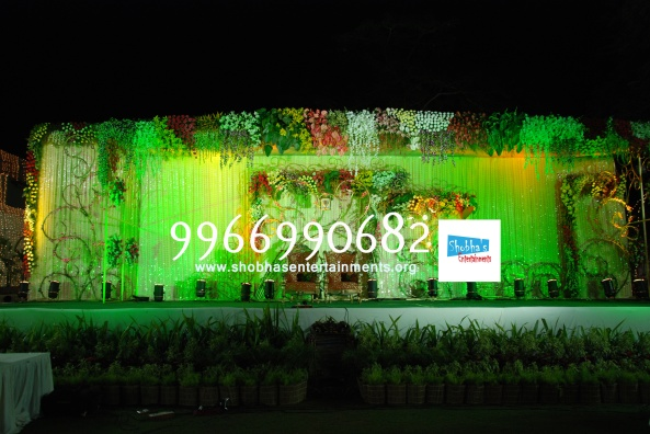 Reception decorations,engagement decorators, sangeet ceremony organizers , wedding flower decorations and event organizers in Hyderabad (67)