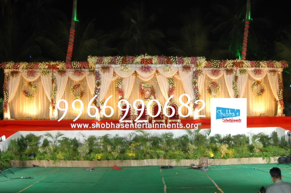 Reception decorations,engagement decorators, sangeet ceremony organizers , wedding flower decorations and event organizers in Hyderabad (71)