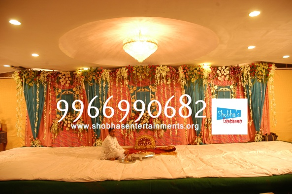 Reception decorations,engagement decorators, sangeet ceremony organizers , wedding flower decorations and event organizers in Hyderabad (73)