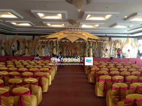 wedding stage flower and reception stage decorations in hyderabad (112)Q