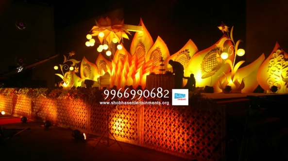 wedding stage flower decorators in hyderababd