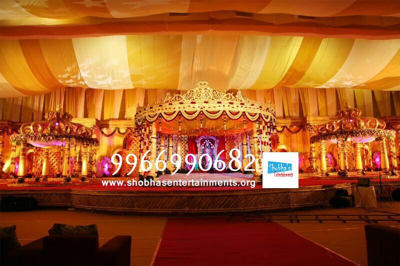 Wedding And Reception Stage Decorations In Hyderabad Shobha S