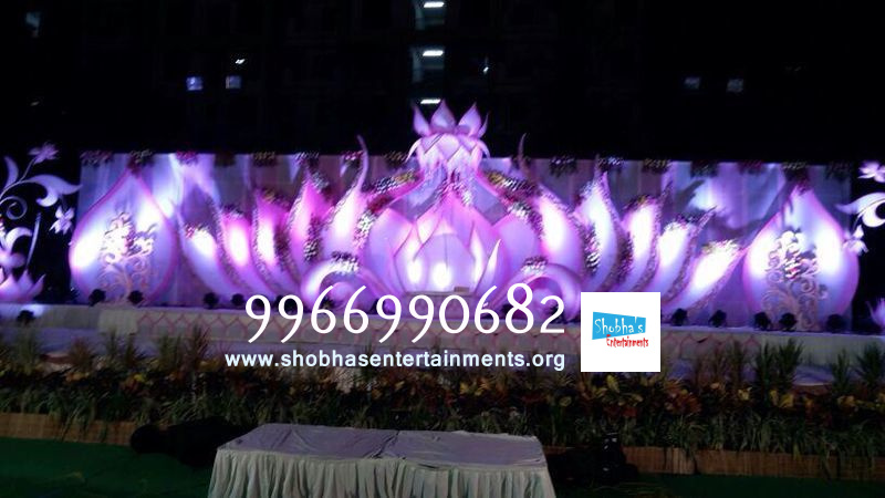 Wedding stage flower and reception stage decorations in hyderabad published december 31 2014 at 800 450 in reception sets stage flower decorators junglespirit Gallery