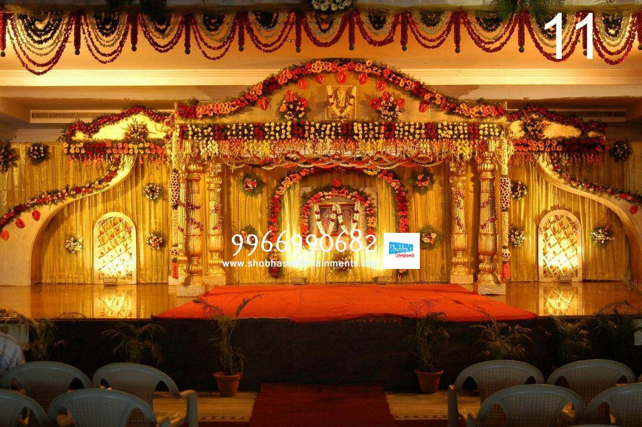 Wedding Mandap Flower Decoration Hyderabad Shobha S