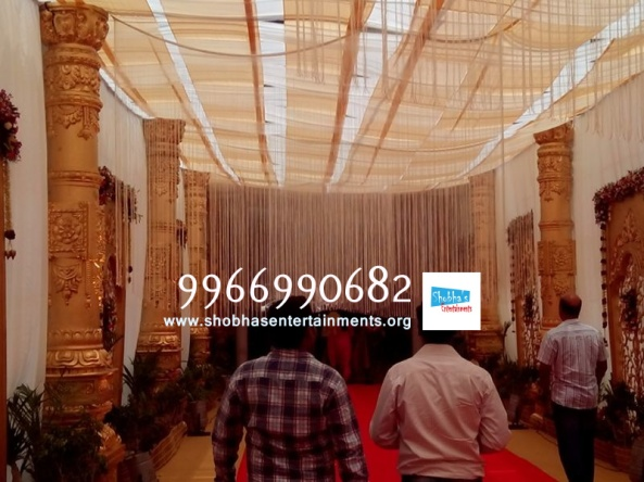 wedding stage flower and reception stage decorations in hyderabad (23)