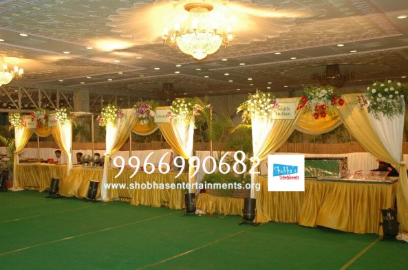 wedding stage flower and reception stage decorations in hyderabad (34)