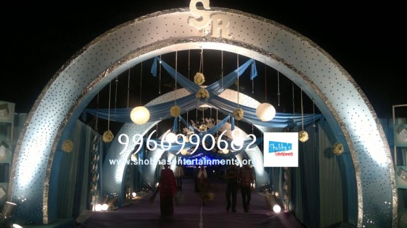 wedding stage flower and reception stage decorations in hyderabad (69)
