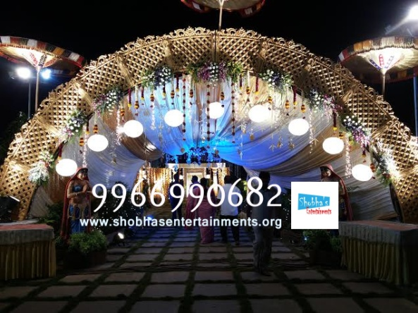 wedding stage flower and reception stage decorations in hyderabad (70)