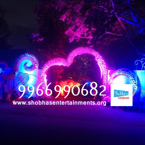 wedding stage flower and reception stage decorations in hyderabadQ