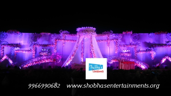 Reception decorations,engagement decorators, sangeet cermony organizers , wedding flower decorations and event organizers in hyderabad