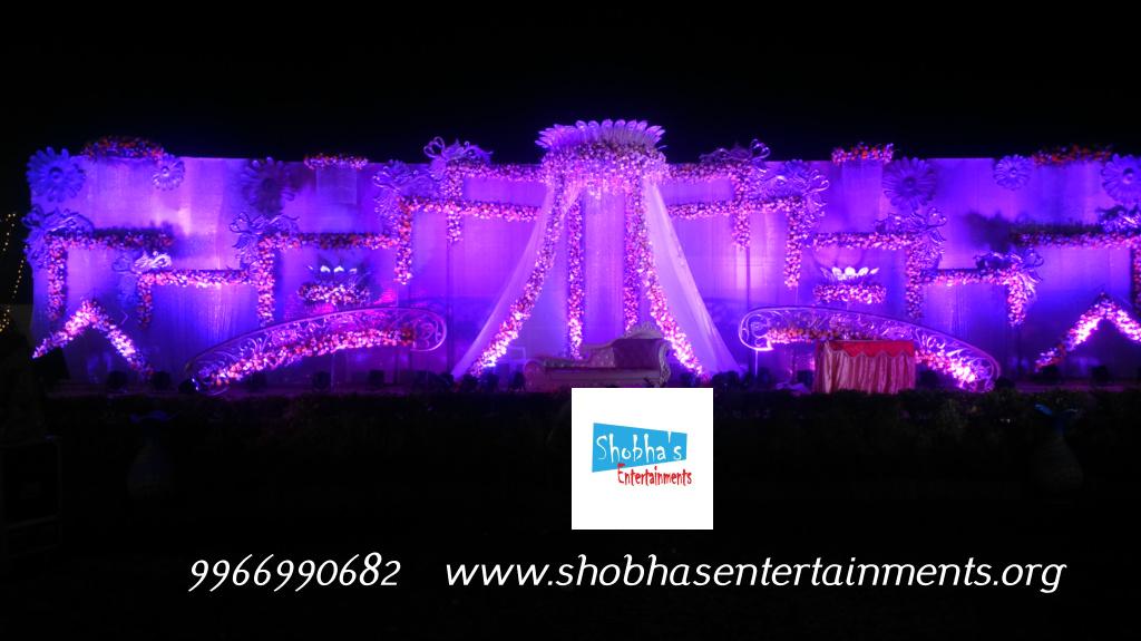 Hydrabad Event Wedding And Reception Flowers Decoration Shobhas