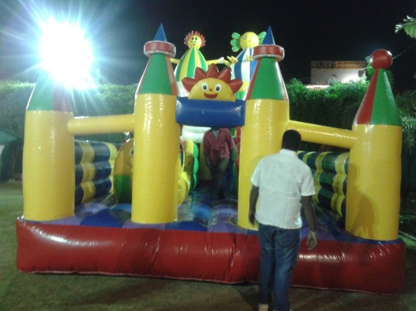 inflatable bouncies