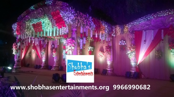 wedding stage decorations in Hyderabad (10)