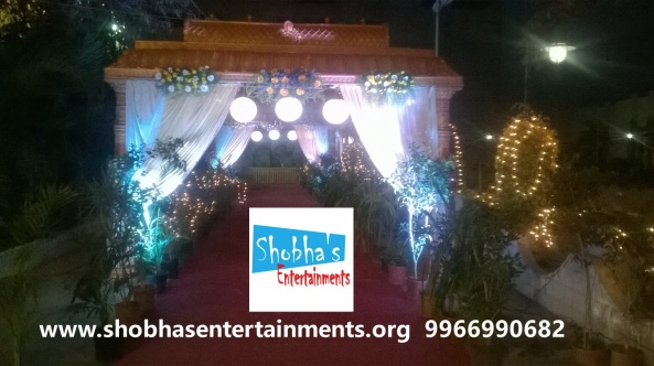 wedding stage decorations in Hyderabad (2)
