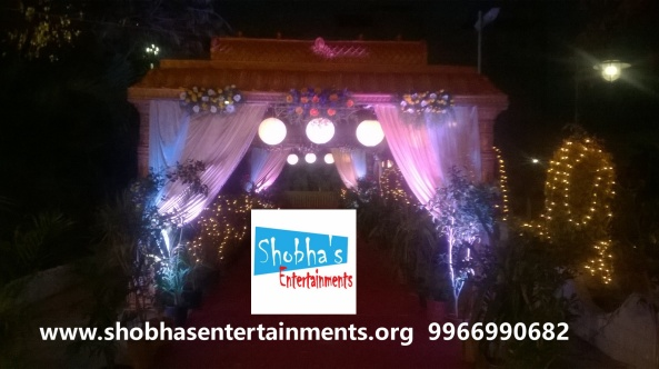 wedding stage decorations in Hyderabad (3)