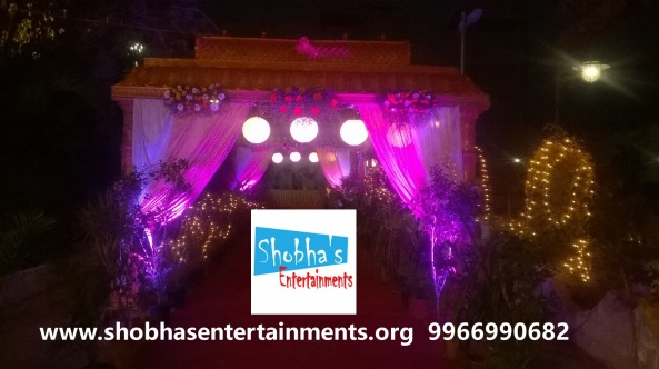 wedding stage decorations in Hyderabad (4)