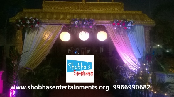wedding stage decorations in Hyderabad (5)