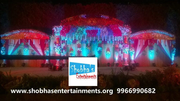 wedding stage decorations in Hyderabad (6)