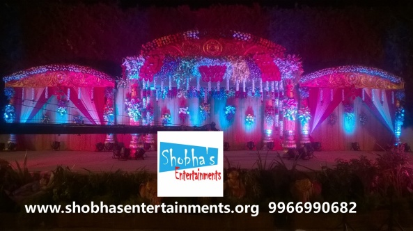 wedding stage decorations in Hyderabad (7)