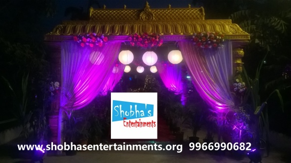 wedding stage decorations in Hyderabad
