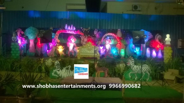 jungle theme  decoration for kids birthday party (10)