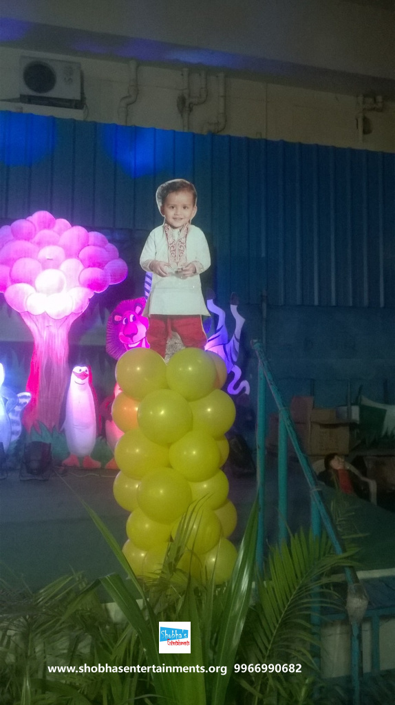jungle theme  decoration for kids birthday party (11)
