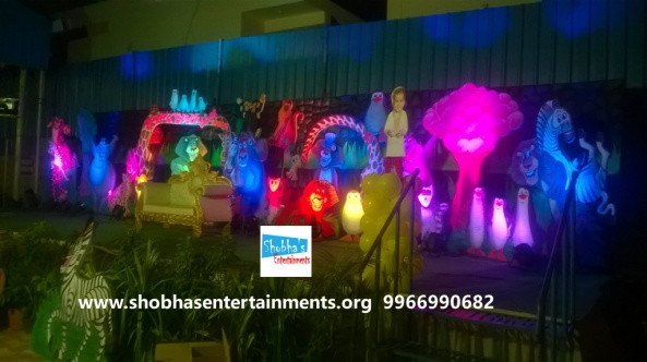 jungle theme  decoration for kids birthday party (12)