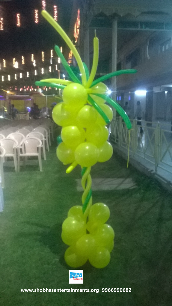 jungle theme  decoration for kids birthday party (14)