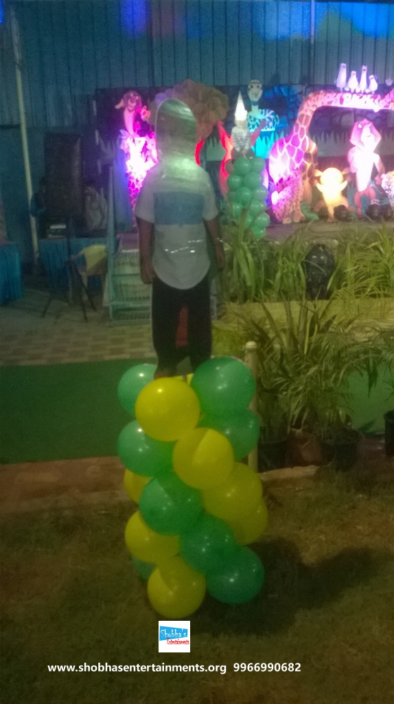jungle theme  decoration for kids birthday party (15)