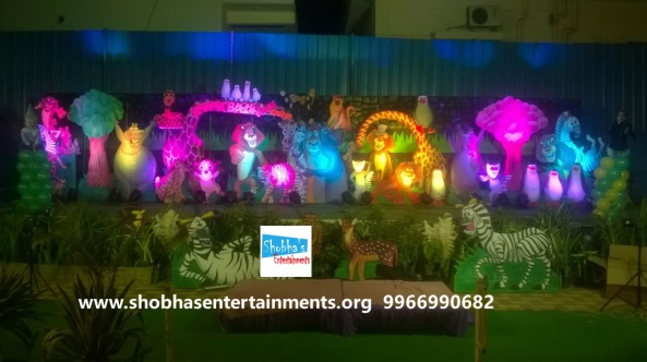 jungle theme  decoration for kids birthday party (3)