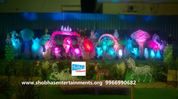 jungle theme  decoration for kids birthday party (5)