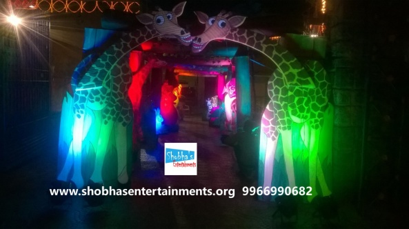 jungle theme  decoration for kids birthday party (6)