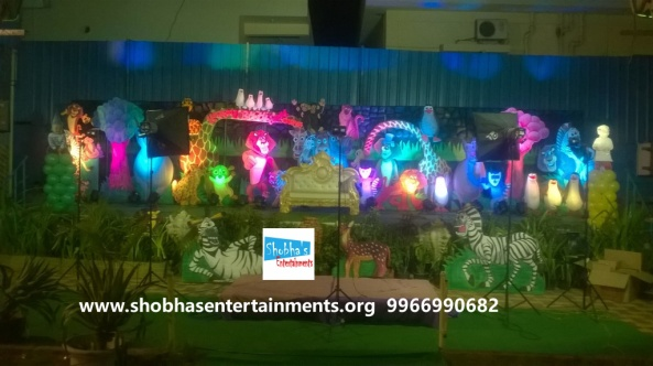 jungle theme  decoration for kids birthday party (9)