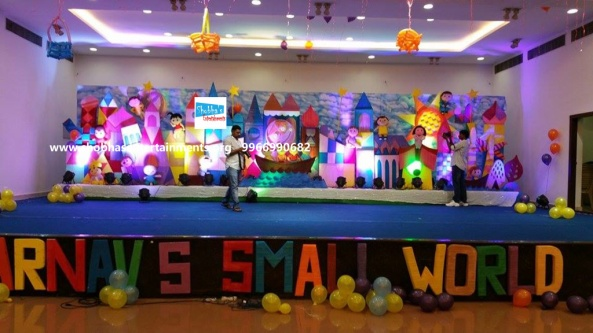 Birthday theme stage decorations for your kids first for 1st birthday stage decoration hyderabad