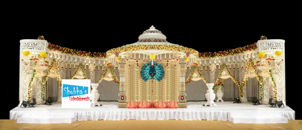 Reception Sangeet And Engagement Stage Decorators In Hyderabad