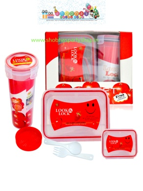 lock and lock smiley gift set 225 (7)