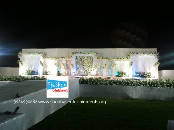 Reception, sangeet and engagement stage decorators in hyderabadSAMSUNG
