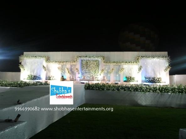 Reception, sangeet and engagement stage decorators in hyderabadSAMSUNG
