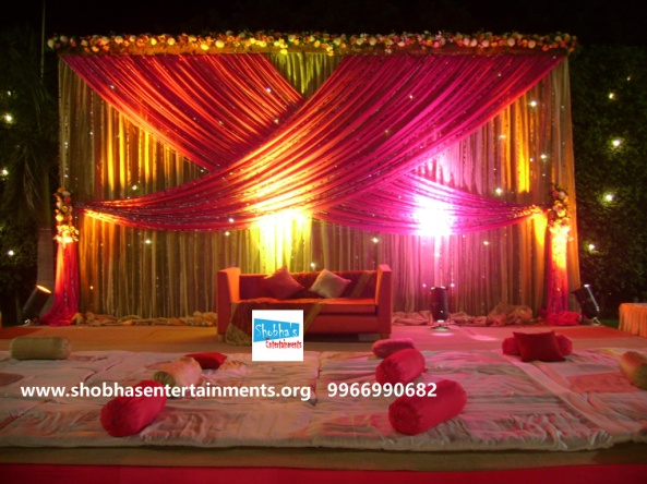 Reception decorations,engagement decorators, sangeet ceremony organizers , wedding flower decorations and event organizers in Hyderabad (58)