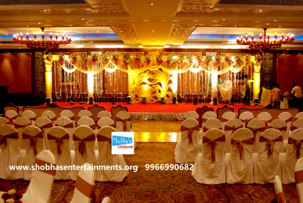 Reception decorations,engagement decorators, sangeet ceremony organizers , wedding flower decorations and event organizers in Hyderabad (64)