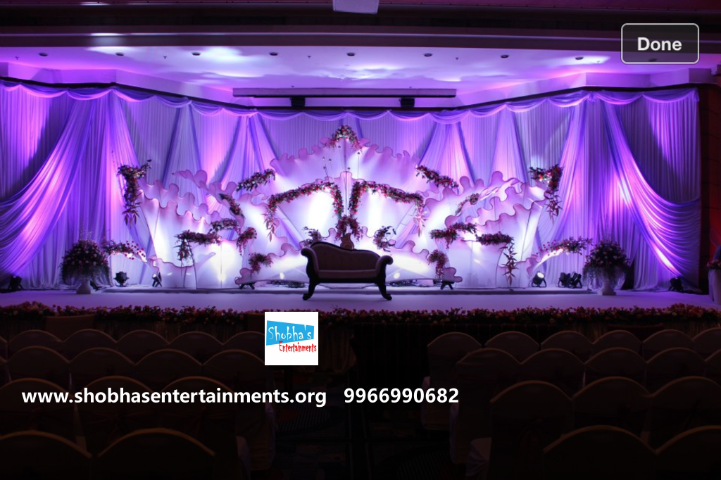 Reception And Engagement Stage Decorators In Hyderabad Shobha S