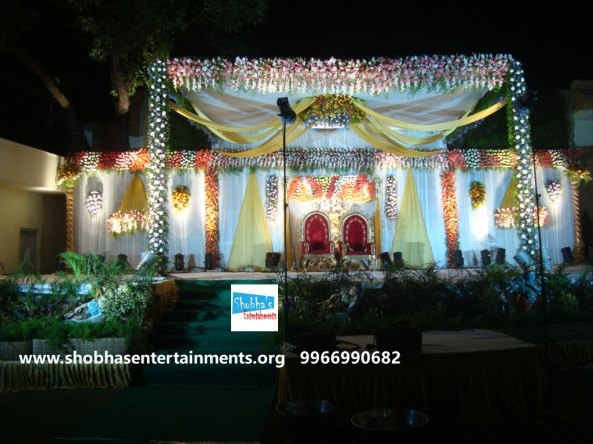 Reception decorations,engagement decorators, sangeet ceremony organizers , wedding flower decorations and event organizers in Hyderabad (91)