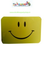 rectangular smiley lunch box with spoon 85 (3)