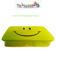 rectangular smiley lunch box with spoon 85 (4)