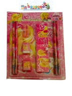 Stationary gift set with 4 pencils,scale,eraser,sharpener,bookand 2 caps.jpg (2)
